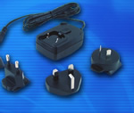 Phihong - Energy-Efficient 20W Interchangeable Plug Adapter Series