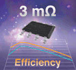 Monolithic Power MOSFET and Schottky Diode Achieves 3 Milliohms On-Resistance in SO-8