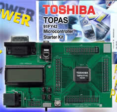 Starter Kit speeds development of Toshiba's 16-bit SuperFlash microcontrollers