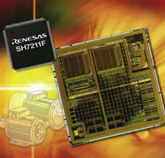 Flash microcontroller from Renesas will enable next generation motor drives