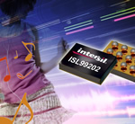 Intersil Audio amplifiers feature low power consumption and high RF immunity