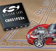MCU family is designed specifically for automotive electronics