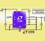 2.5µA Quiescent Current, 60V, 350mA(IOUT), 2.2MHz Step-Down DC/DC Converter