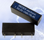 MEDER electronic, Inc. expands its High Voltage/High Current Reed Relays with the new miniature SIL HV Series
