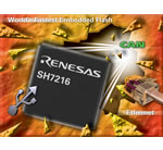 Renesas claims the industry's fastest embedded flash microcontroller