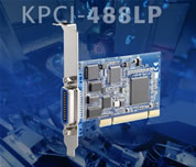 Low Profile GPIB Controller Interface Plug-in Board from Keithley Instruments