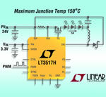 45V, 1.5A LED Driver for Boost, Buck or Buck-Boost High Current LED Applications