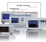 Yokogawa Software carries out standby power consumption measurements according to IEC 62301 standard