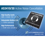 austriamicrosystems announces highly integrated ambient noise cancelling speaker drivers