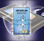 Maxim's DirectDrive II Headphone Amplifier Extends Audio Playback Time in Portable Devices