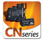 Crydom Introduces the CN Series of Single in-line Pluggable Solid State Relays, DIN Rail Mounted Sockets and Assemblies
