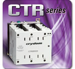 Crydom Introduces the CTR Series of Three-Phase AC Output Din Rail Mounted Solid State Contactor Relays