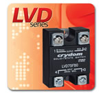 Crydom Announces the LVD Series of Panel Mounted Low Voltage Disconnect DC Solid State Switches