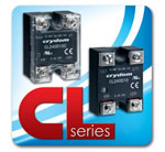 "Crydom Announces The ""CL"" Series of Panel Mounted General Purpose AC Solid State Relays"