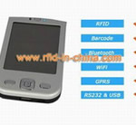 Palm-sized Handheld RFID Reader with mobile computing functions