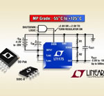 500mA Negative Micropower LDO Offers New High Reliability Grade Operating Down to -55°C