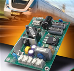 Martek's JL Series Open Frame DC/DC Converters for Railway Applications Have A Smaller Footprint