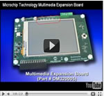 Microchip Technology Multimedia Expansion Board