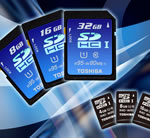 Toshiba to Launch World's Fastest SDHC Memory Card and First microSDHC UHS-1 Cards