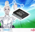 Fujitsu 2nd Generation 8-bit MCU with Embedded FRAM Delivers Key Features