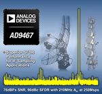 Analog Devices Claims Industry's Fastest  16-bit ADC at 250 MSPS