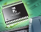Semtech Claims First Dual-Channel Step-Down Controller for DrMOS Power Devices