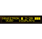Densitron Just Introduced Alphanumeric OLED Range