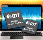 Idt Announces World's First Family Of High-definition Audio Codecs With 3-state Class-D Modulation