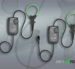 Flexible AC current probes measure up to 2000A