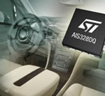 MEMS Accelerometer from STMicroelectronics Monitors and Tracks Motion and Tilt around the Car