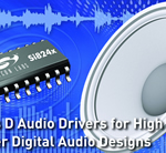 Silicon Labs - Advanced Audio Drivers For High-power Digital Audio Designs