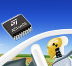STMicroelectronics Announces Accelerometers for Automotive Airbags