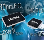 Toshiba unveils 130nm BiCD for next-generation automotive-rugged integration