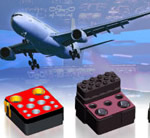 New next generation avionics connector inserts from ITT ICS save space and weight in aircraft flight control systems