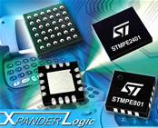 Logic family overcomes  limited number of I/O ports in micro-based embedded systems