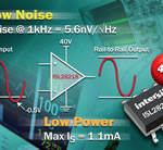 40V Dual Op Amp Delivers Precision and Low Noise at Half the Power of Competitive Devices
