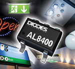 Linear constant current driver from Diodes Incorporated provides versatile control for LED applications