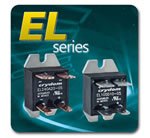 Crydom - EL Series of Compact Panel Mounted AC & DC Output Solid State Relays