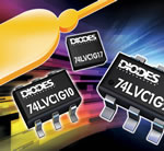 Diodes logic family saves space with 1mm square package