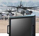 "AIS Releases a 20.1"" UXGA 1600X1200 Ruggedized Rack Mounted LCD Display Meeting Military MIL-STD-810G and MIL-461F Specifications for Airborne and Shipboard Application"