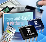 "Semtech's ""Power-and-Go"" RF Platform is Easiest to Design With for Remote Control and Remote Keyless Entry Applications"
