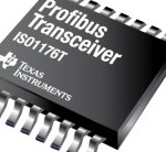 TI - Profibus RS-485 transceiver with integrated driver  for highest efficiency and lowest EMI