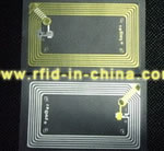 13.56MHz HF RFID Inlay for widespread use