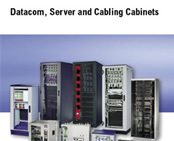 Catalogue features datacom, server and cabling cabinets