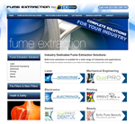 Etek Europe Launch New Website Dedicated to Fume Extraction & LEV Testing