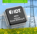 IDT - Industry's Widest Range Poly-Phase Power Metering Products for Smart Grid Applications