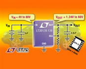 250mA Micropower LDOs can handle up to 80V Input