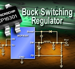 30V buck switching regulator from Microchip enables high efficiencies and compact designs