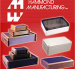 Environmentally sealed and retro Hammond enclosures now available from Rapid Electronics