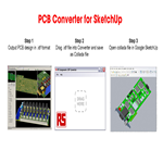 RS Components announce launch of PCB converter module for Google SketchUp, providing eCAD tools with a 3D dimension